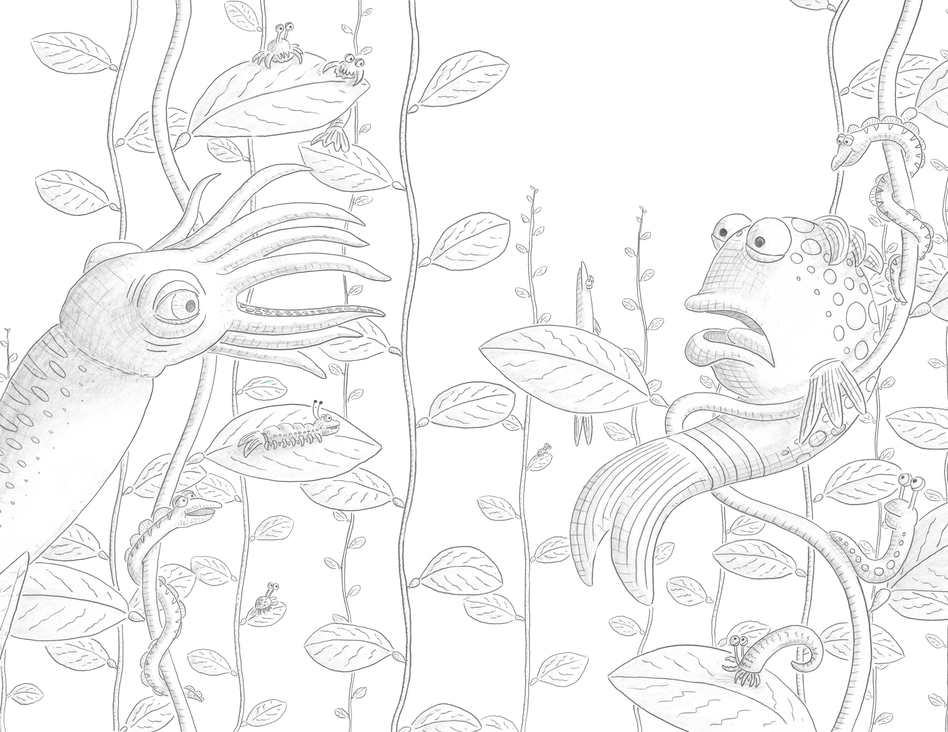 The Pout Pout Fish Coloring Pages Pout Pout Fish Coloring Pages